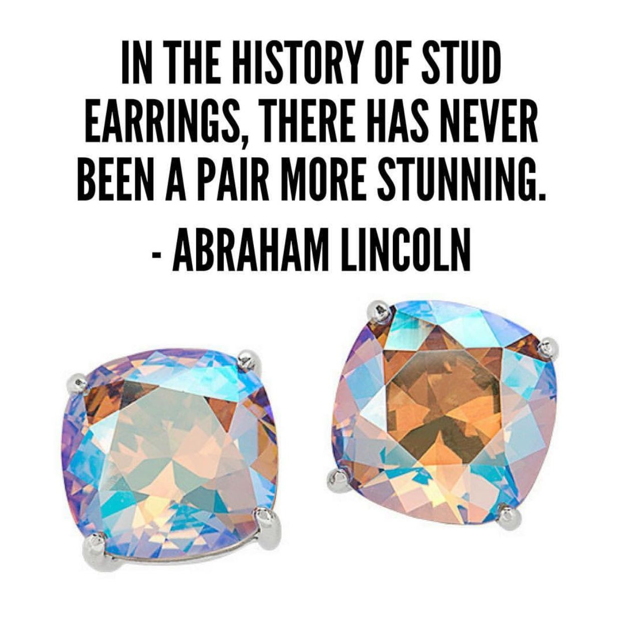 Origami owl in the history of stud earrings there has never origami owl in the history of stud earrings there has never been a jeuxipadfo Image collections