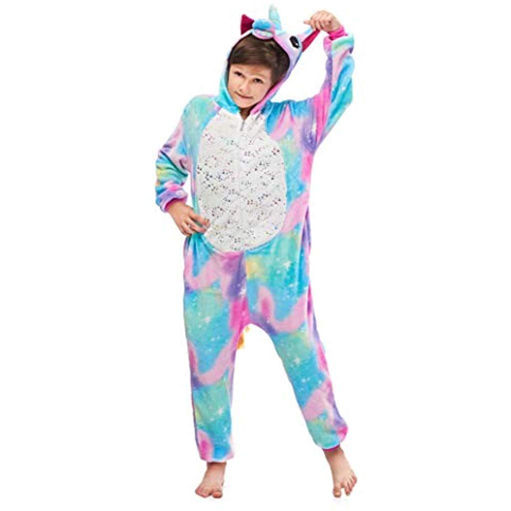 Donna Ragazze Notte Camicia da notte Sleepwear Pigiami CARLINO Unicorno