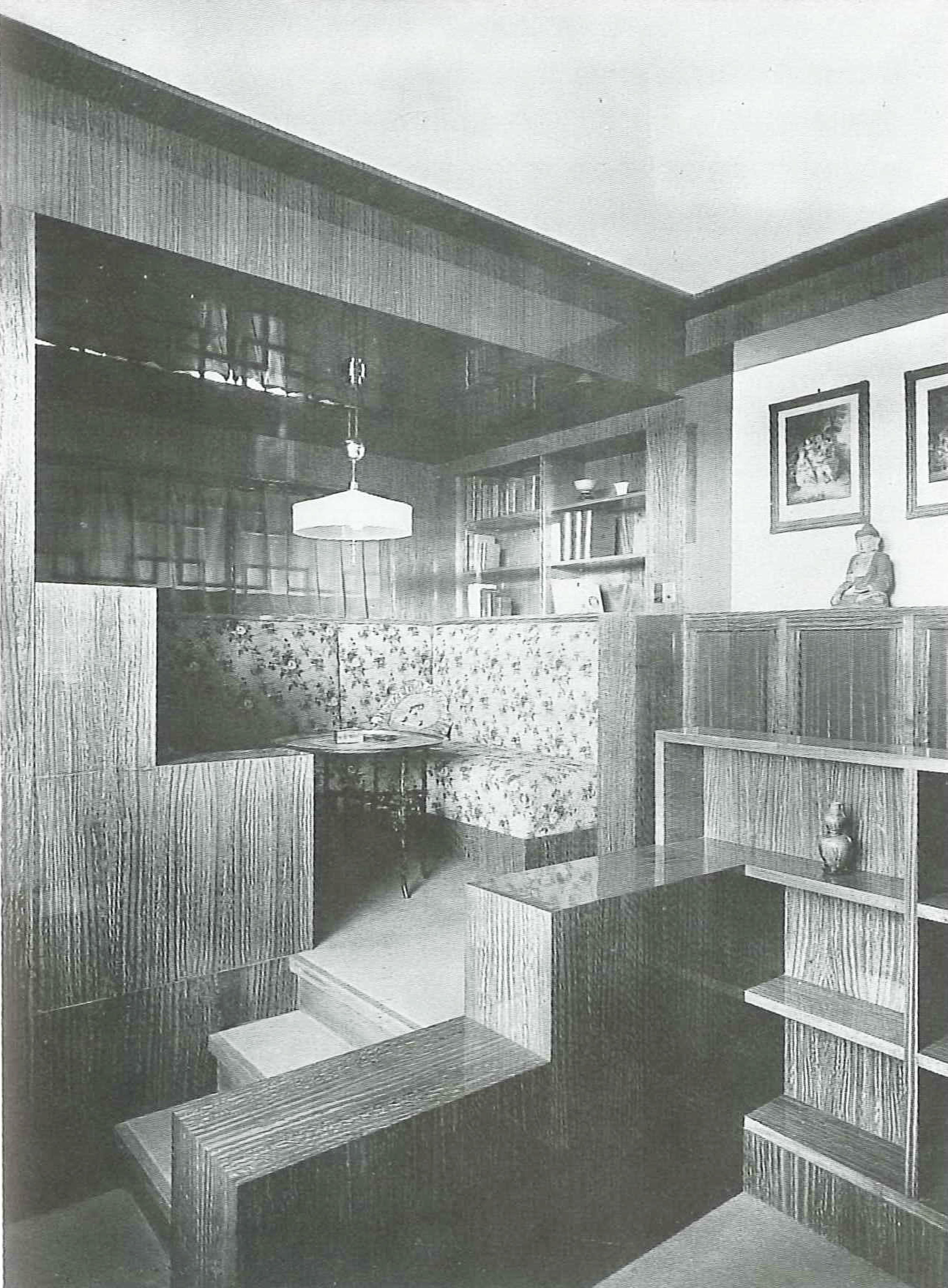 Adolph Loos, home interior, Moller House