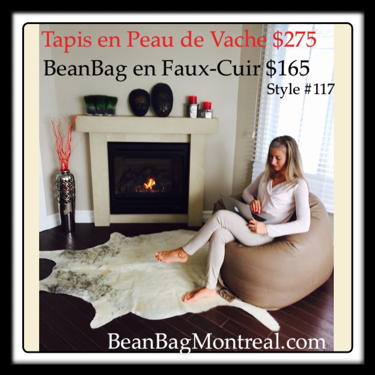 Pin By Beanbag Montreal On Tapis En Peau De Vache Et Mouton Cow Hide And Sheep Skin Toddler Bed Bed Home Decor