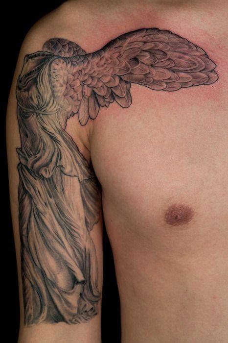 Nike Goddess Of Victory Tattoo Tatoo Tatuagem