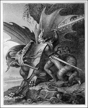 La Desdicha De Los Nibelungos Ii El Cantar Medieval Nibelungos Dragones Dragón De Fantasía