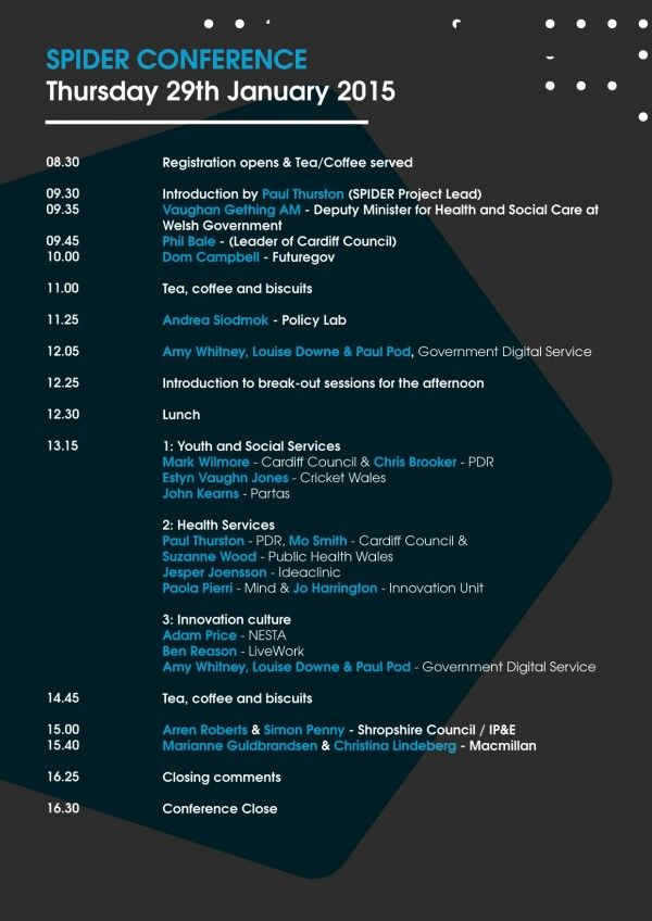 Pin by Don Suttajit on Design Conference Schedule – Conference Agenda