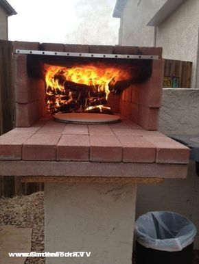 After watching our brick oven pizza video, John in Arizona sent us these photos of his DIY brick oven. Much like our brick oven design, it uses brick and angle iron. I forgot to ask John where he got his angle iron from. I like that the brick oven fits nicely right next to his …