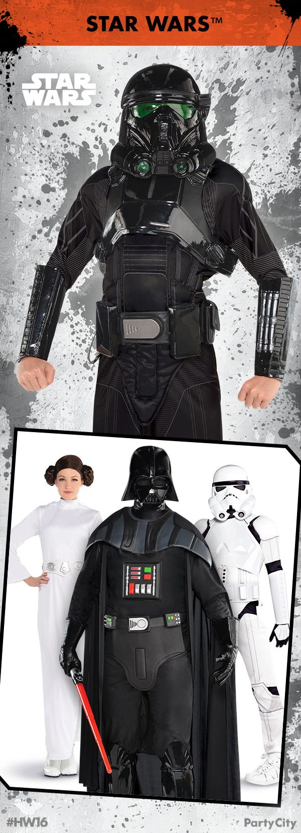 It's true, all of it. Party City now has Star Wars costumes ...