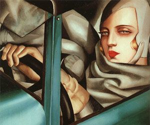 Art deco painting - movement from the interwar years after art ...