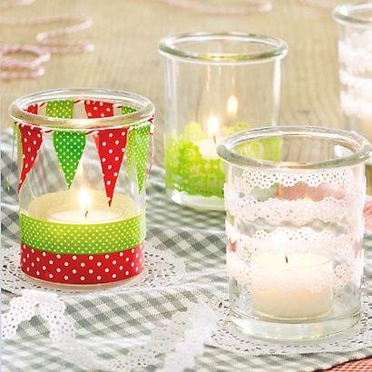 Gläser & Flaschen verzieren Bine Brändle Basteln