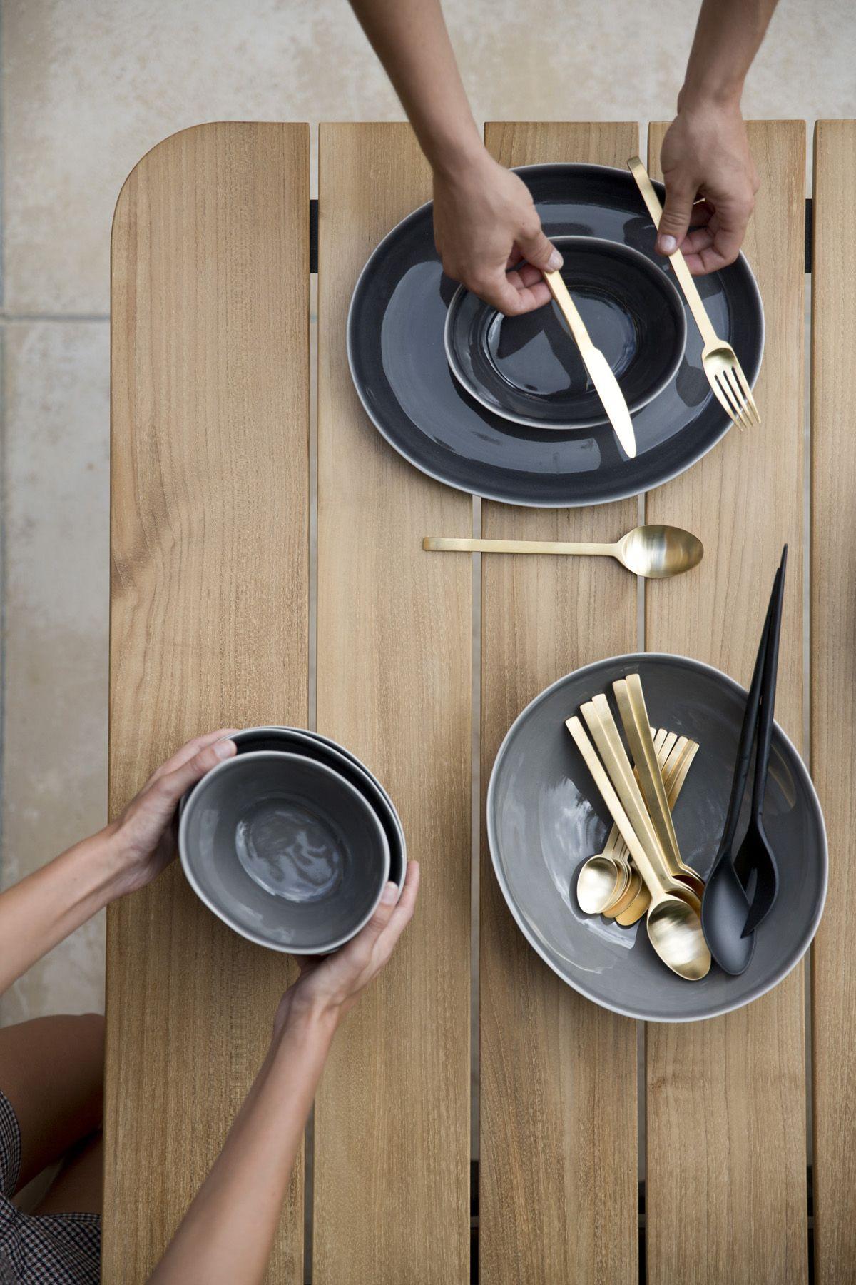 Core Garden Table By Cane Line Design Foersom Hiort Lorenzen