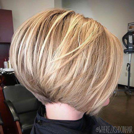 Photo of Bellissimi tagli di capelli bob impilati 2018 – Acconciature Madame