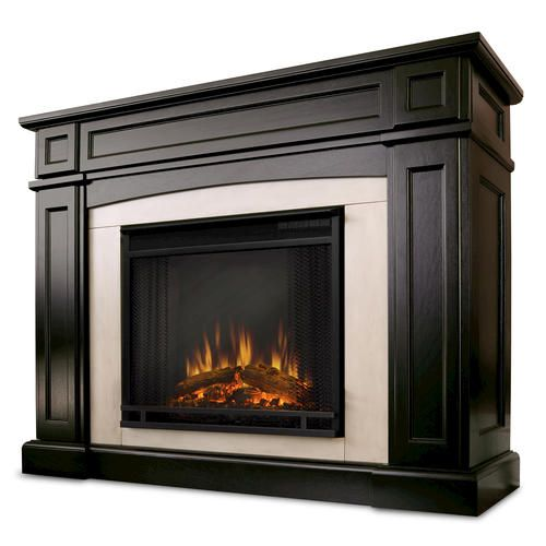 Real Flame Rutherford Ventless Electric Fireplace