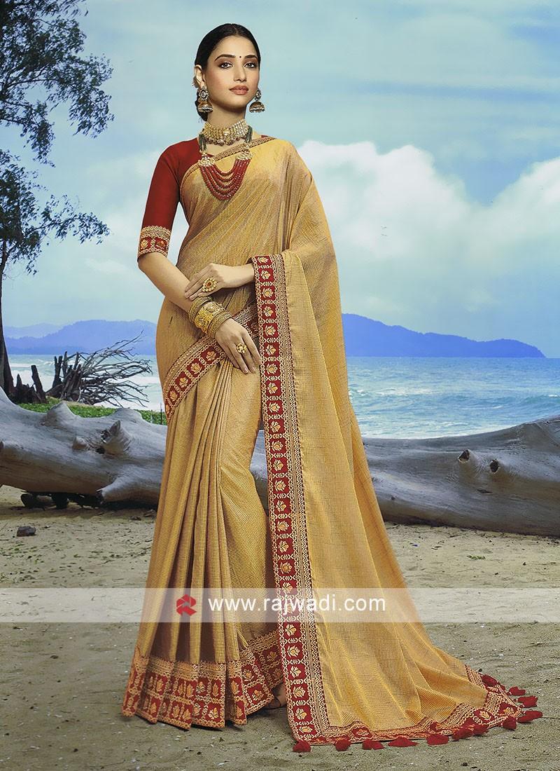 Pin by Rajwadi on New Sarees Designs in 2020 New saree