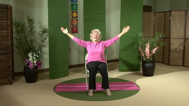 Watch Gentle Chair Yoga: Seated and Standing Series with ...