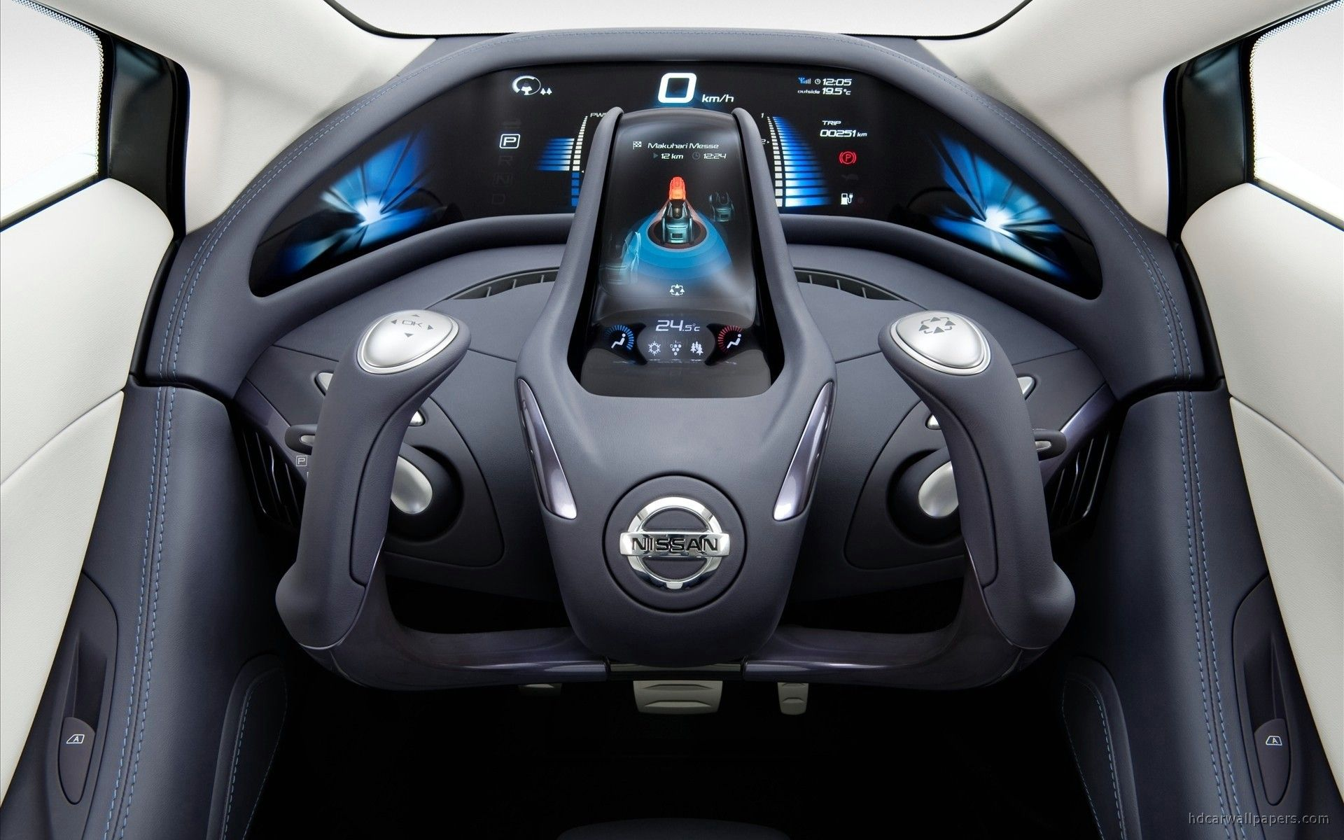 Interior Nissan Cars Concept Art Glider Land Vehicles Wallpapers
