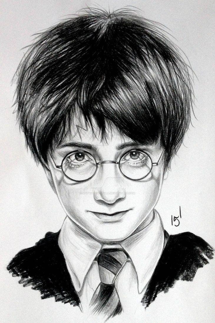 Harry Potter By Matyldaszytula On Deviantart Harry Potter Drawings Harry Potter Portraits Harry Potter Painting