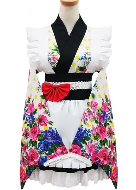 Floral Cotton Bows Cosplay Lolita Dress