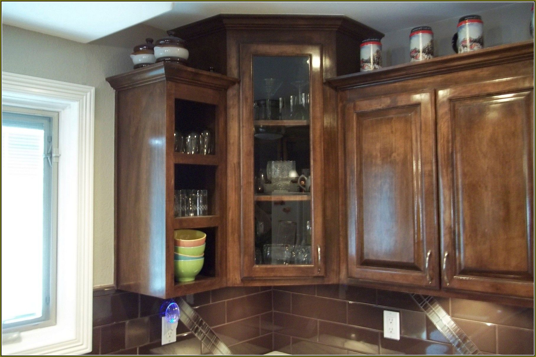 Cool Upper Corner Kitchen Cabinet Ideas Agreeable Inspiration To Prepossessing Upper Kitchen Cabinets Design Inspiration