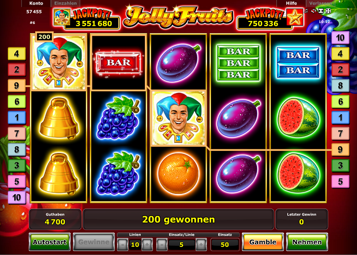 Jolly Fruits im Test