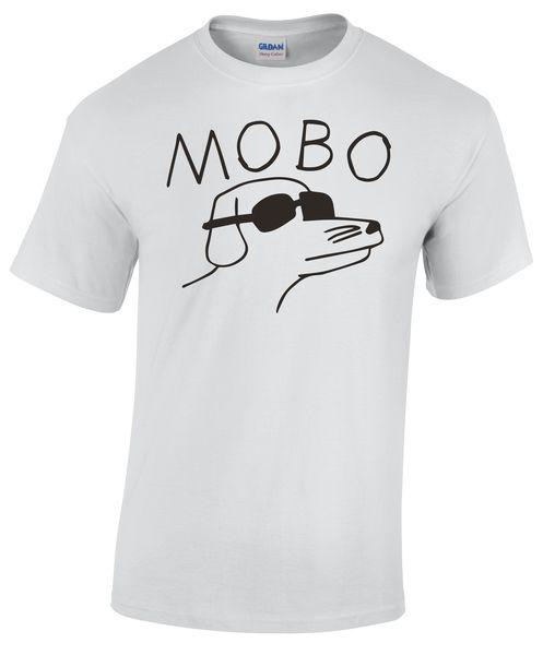 Mobo Dog Tee White