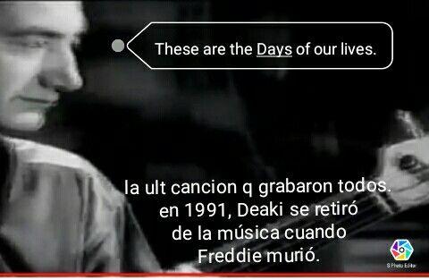 John Deacon iba a ser un bajista nada mas, termino siendo un compositor muy prolifico y audaz.