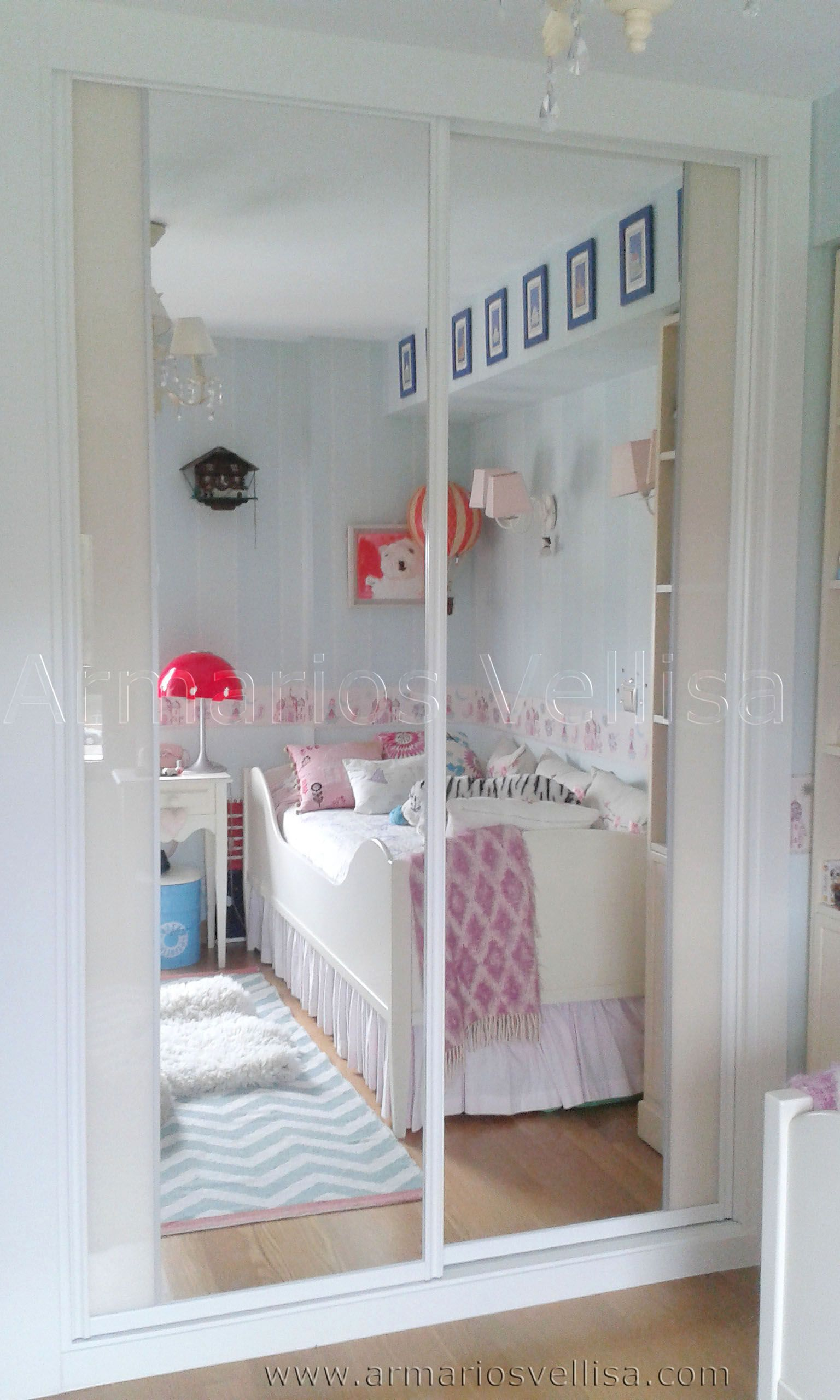 Armario empotrado en habitaci n juvenil 248 x 160 x 62 for Armarios habitacion