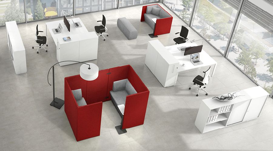 Syneo Lounge furniture | ASSMANN Büromöbel