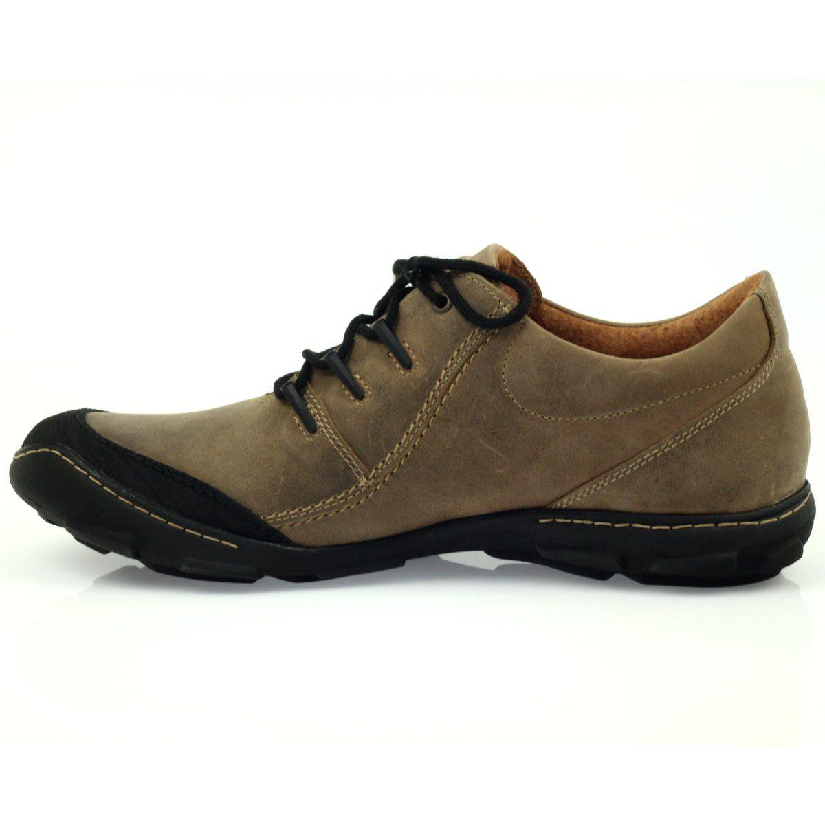 Badura 2159 Polbuty Sportowe Komfortowe Czarne Brazowe Hiking Boots Boots Sneakers