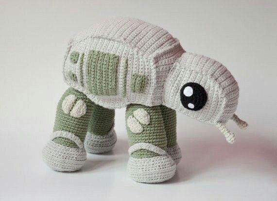AT-AT walker PATRÓN de Crochet por Krawka | StarWars MISC ...