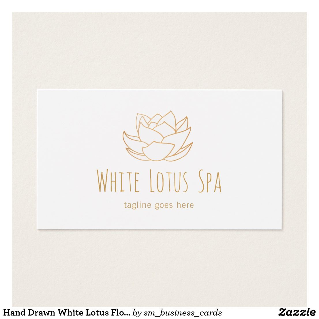 Hand drawn white lotus flower wellness spa holistic health and business cards hand drawn white lotus flower wellness spa reheart Image collections