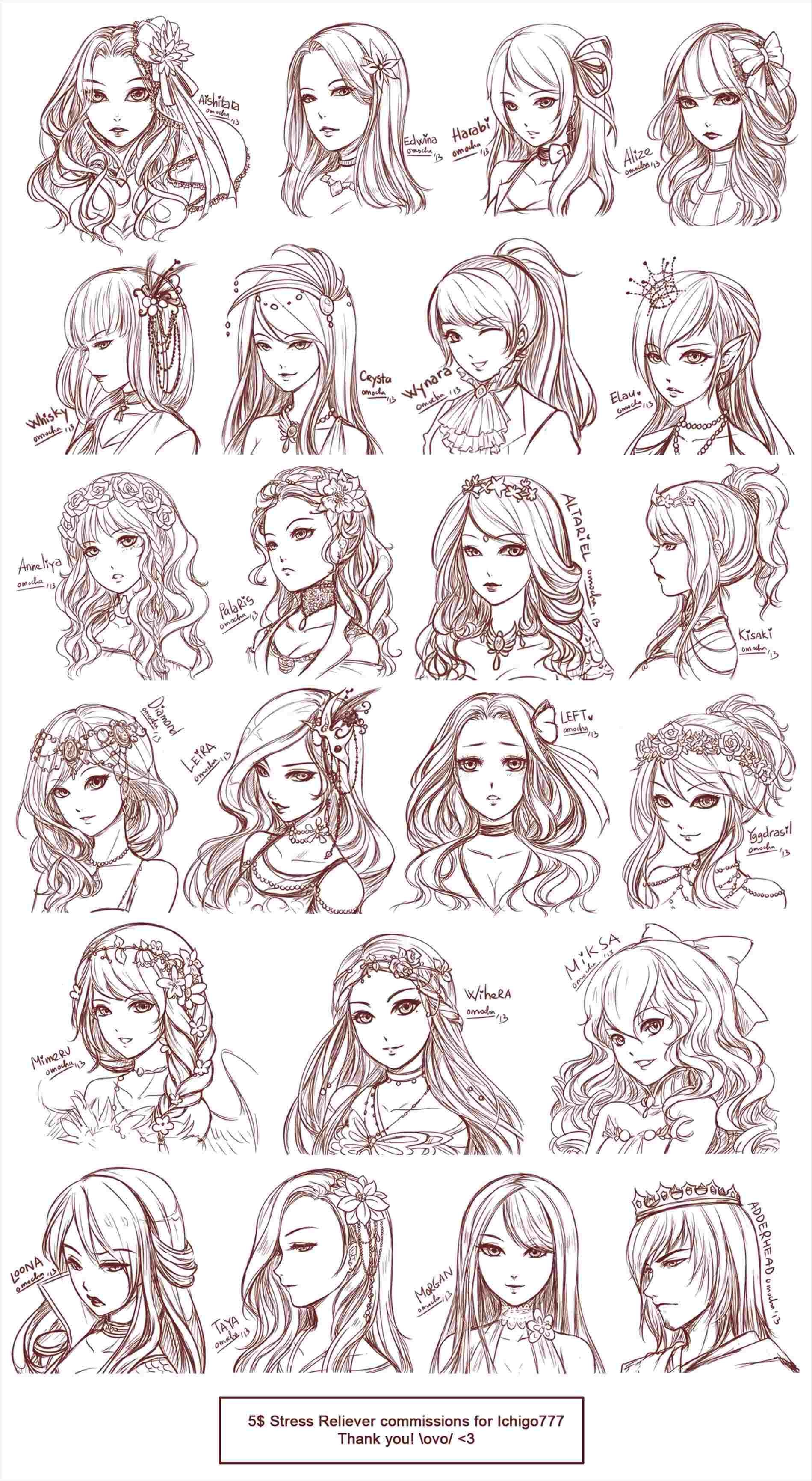 Braid Drawing Tutorial At Paintingvalleycom Explore Collection Of Girl Hair Drawing How To Draw Hair How To Draw Braids