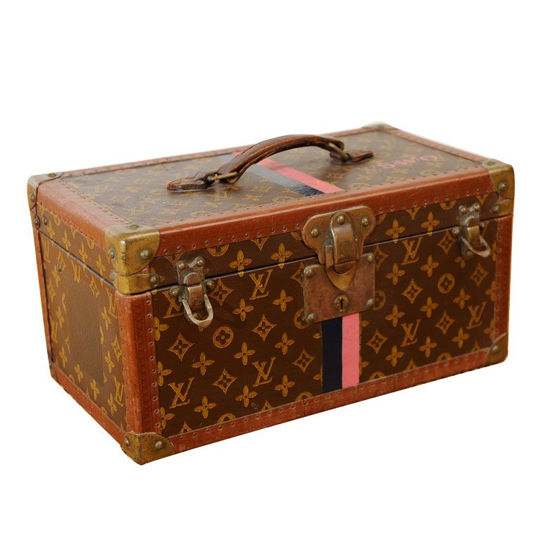 828981354164 Who doesn t dream of owning one of these someday  Louis Vuitton Vintage  Monogram Canvas Bisten Train Case