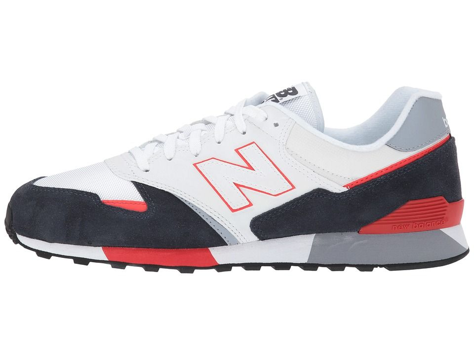 b20f5891de543b New Balance Classics U446 Athletic Shoes White Navy Red