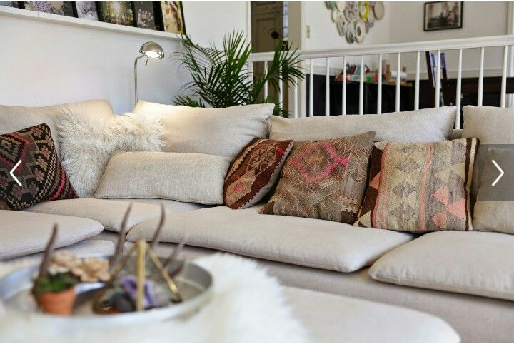 How I Want A Couch Like This Soderhamn Ikea Sectional Home Decor