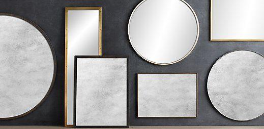 Custom Metal Mirrors | Restoration Hardware
