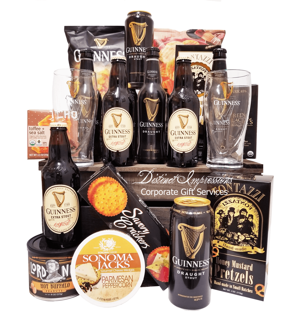 Guinness Stout Beer Gift Crate