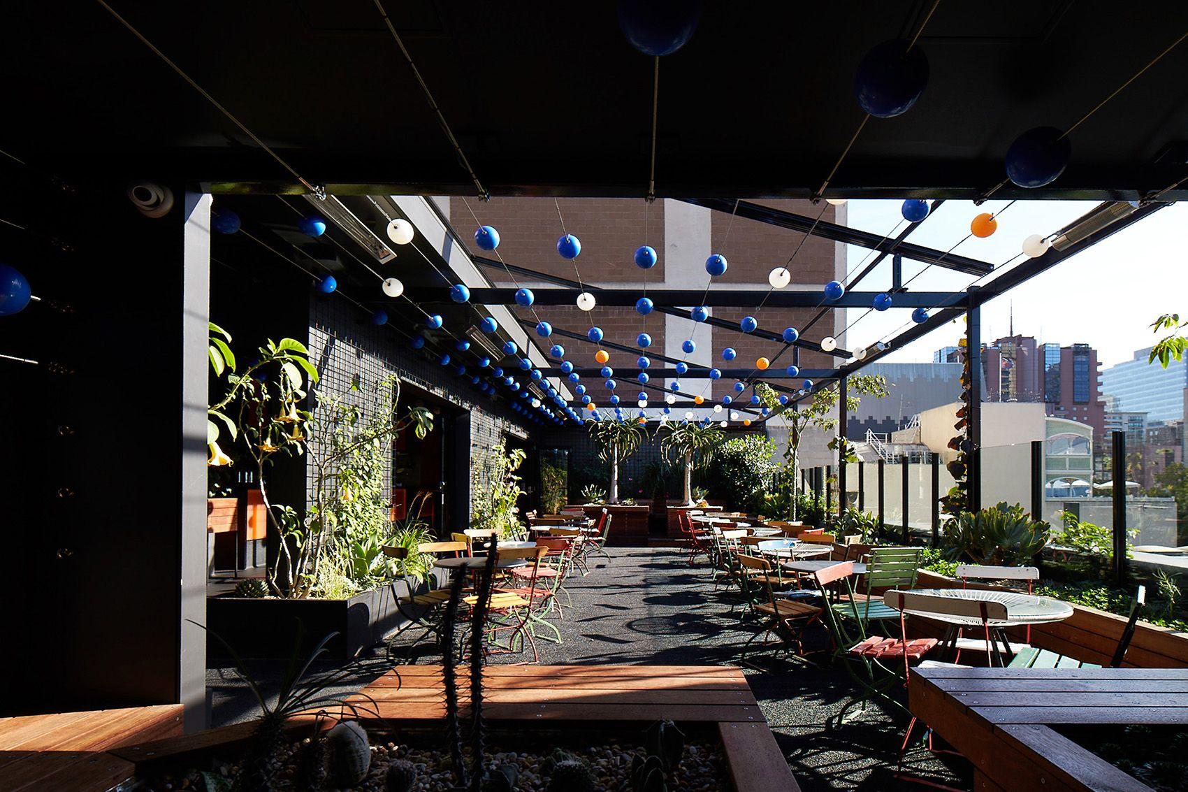 Gallery - Loop Roof Rooftop Cocktail Bar & Garden Melbourne | Beautiful Roofs, Roof Garden Plan, Roof Garden Design