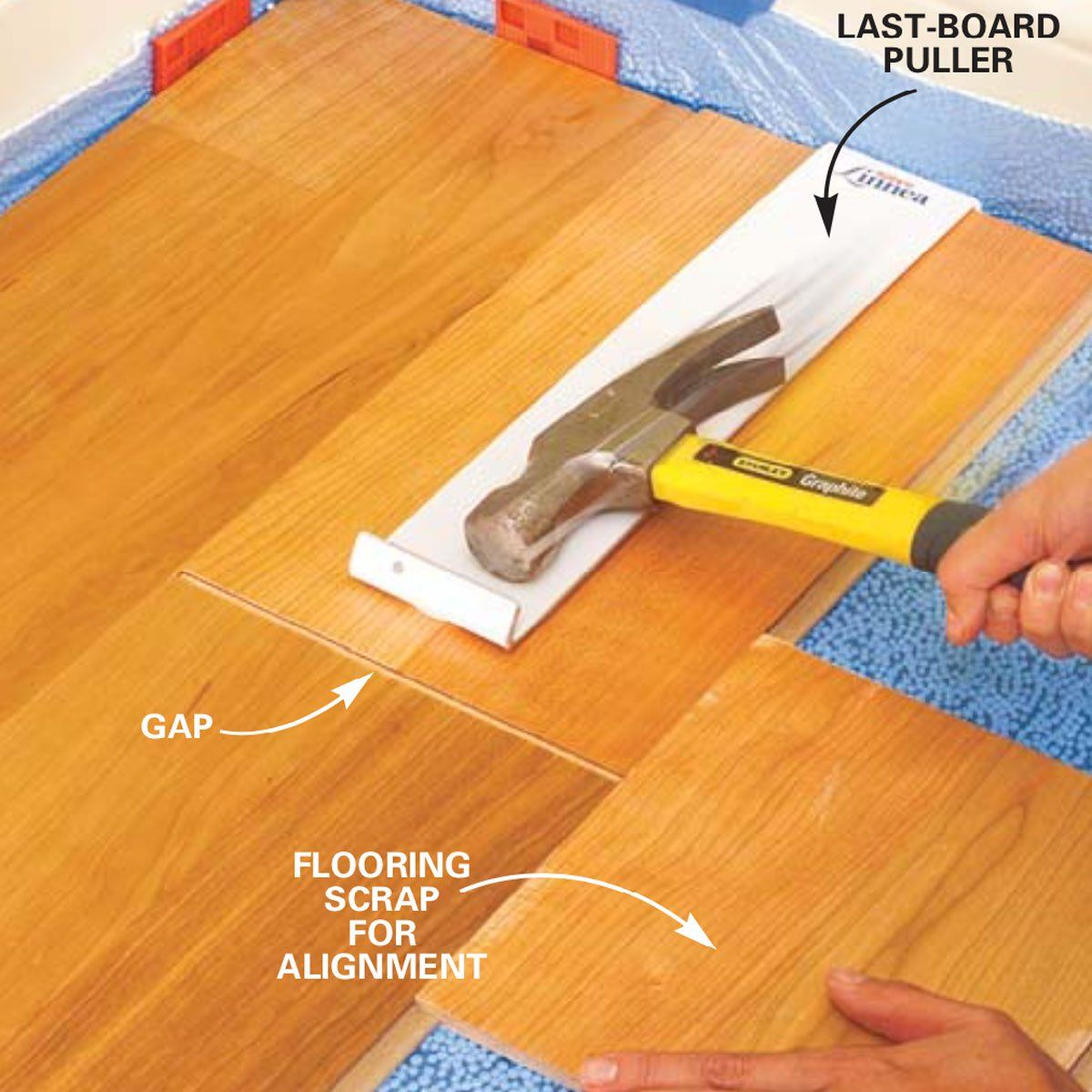 Guide to Installing Laminate Flooring Installing