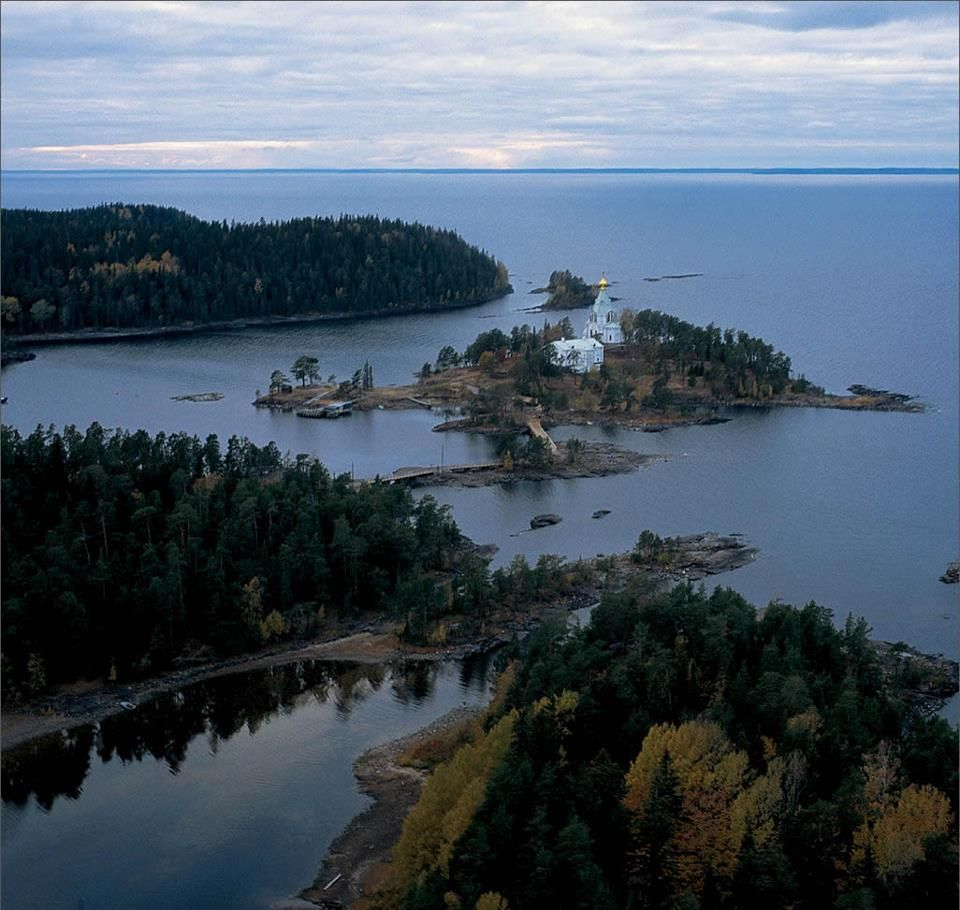 Krestoviy Island. A view of Lake Ladoga. Russia. Can't get ...
