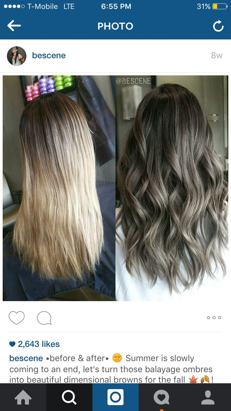 ideas hair lighting light dye images highlights ash coloring brown color with