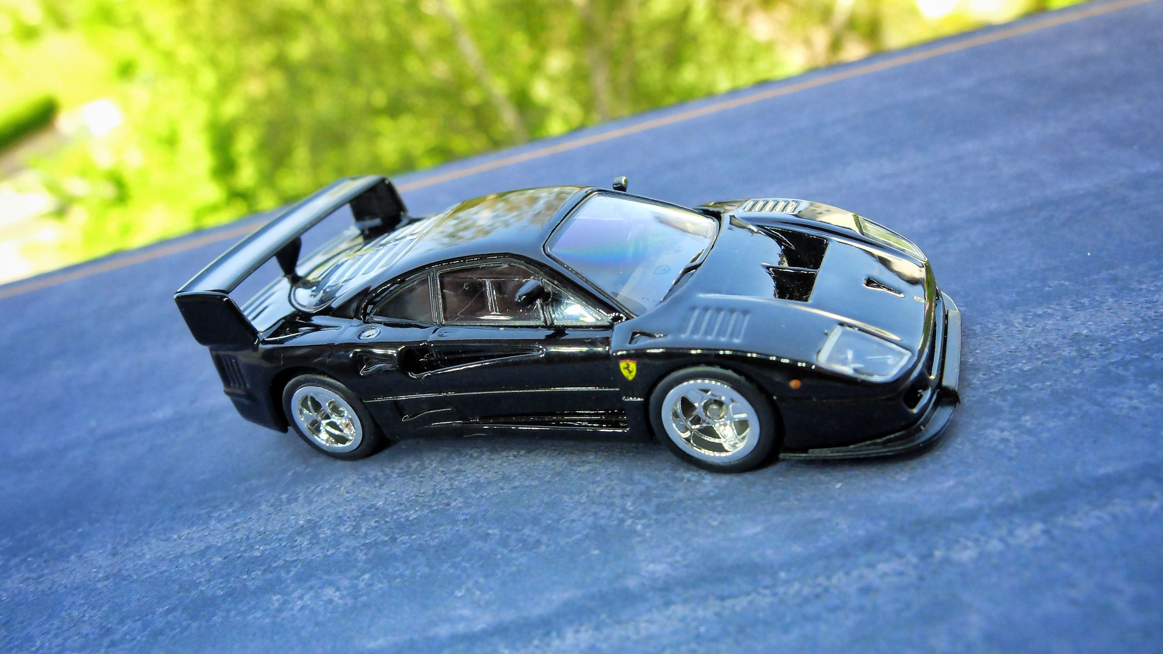 Ferrari F40 Gte By Kyosho With Images Custom Hot Wheels