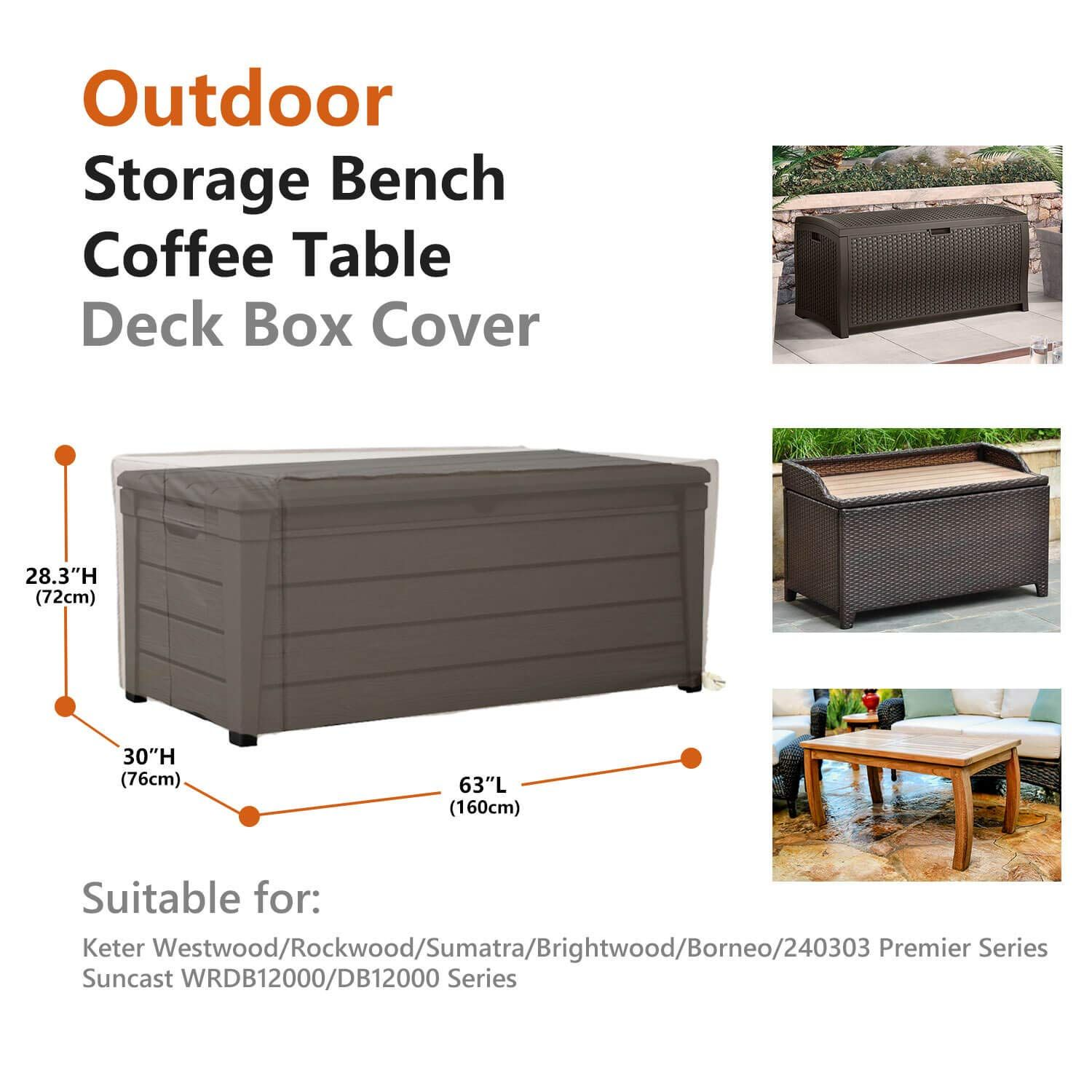 Patio Deck Box Cover You Can Find Out More Details At The Link Of The Image It Is An Affiliate Link To Amazon In 2020 Patio Deck Box Outdoor Storage Bench