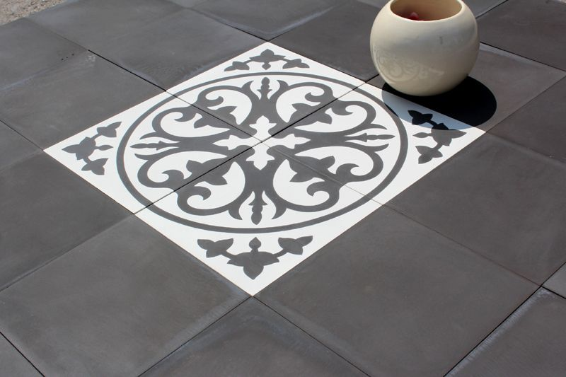Carreau Ciment Romantique Par Parquet Carrelage Com