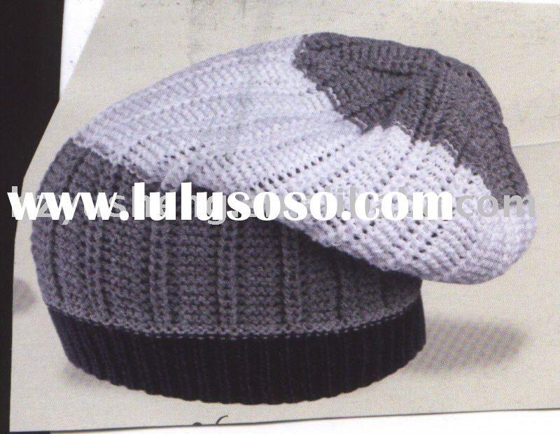 Free Knitting Loom Hat Patterns | Loom Knitting Hats Men | Haken en ...