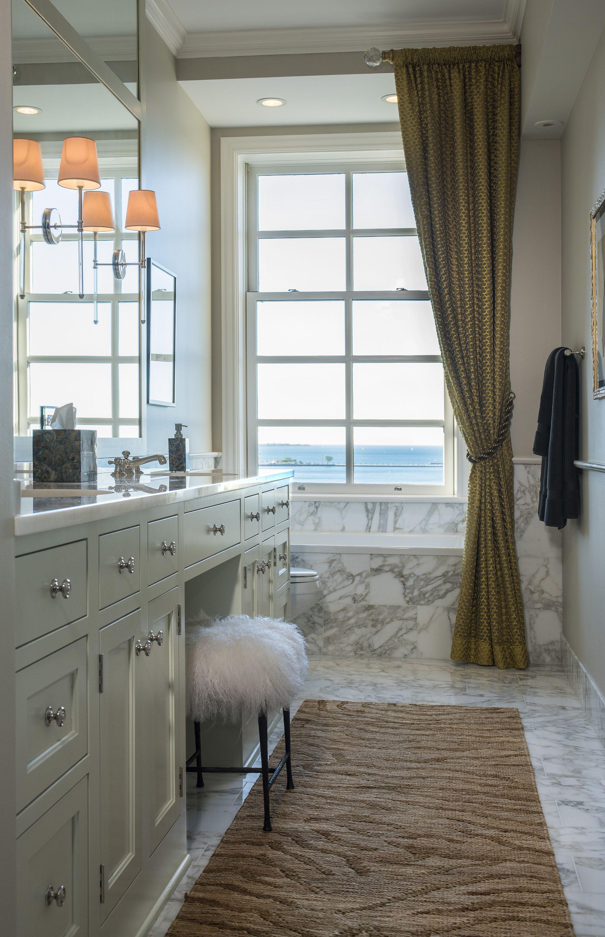 A Classic Modern Home In Chicago  Chicago Luxury Interior Design Pleasing Bathroom Designer Chicago Decorating Design