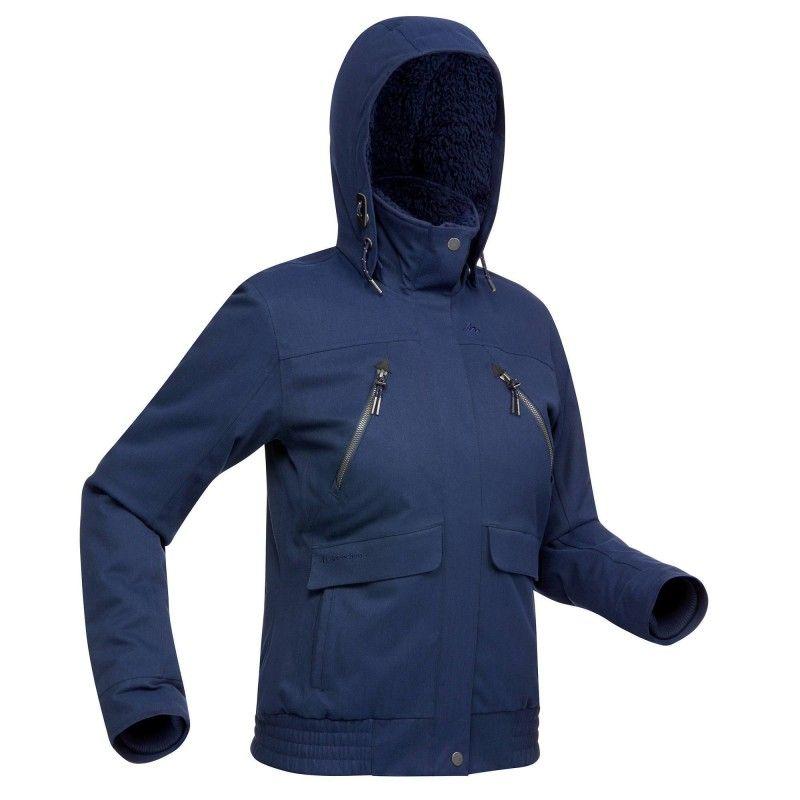Vestiti Sh500 Warm X Donna Blu Giacca x15wUAXXq 77f23fc4c1f
