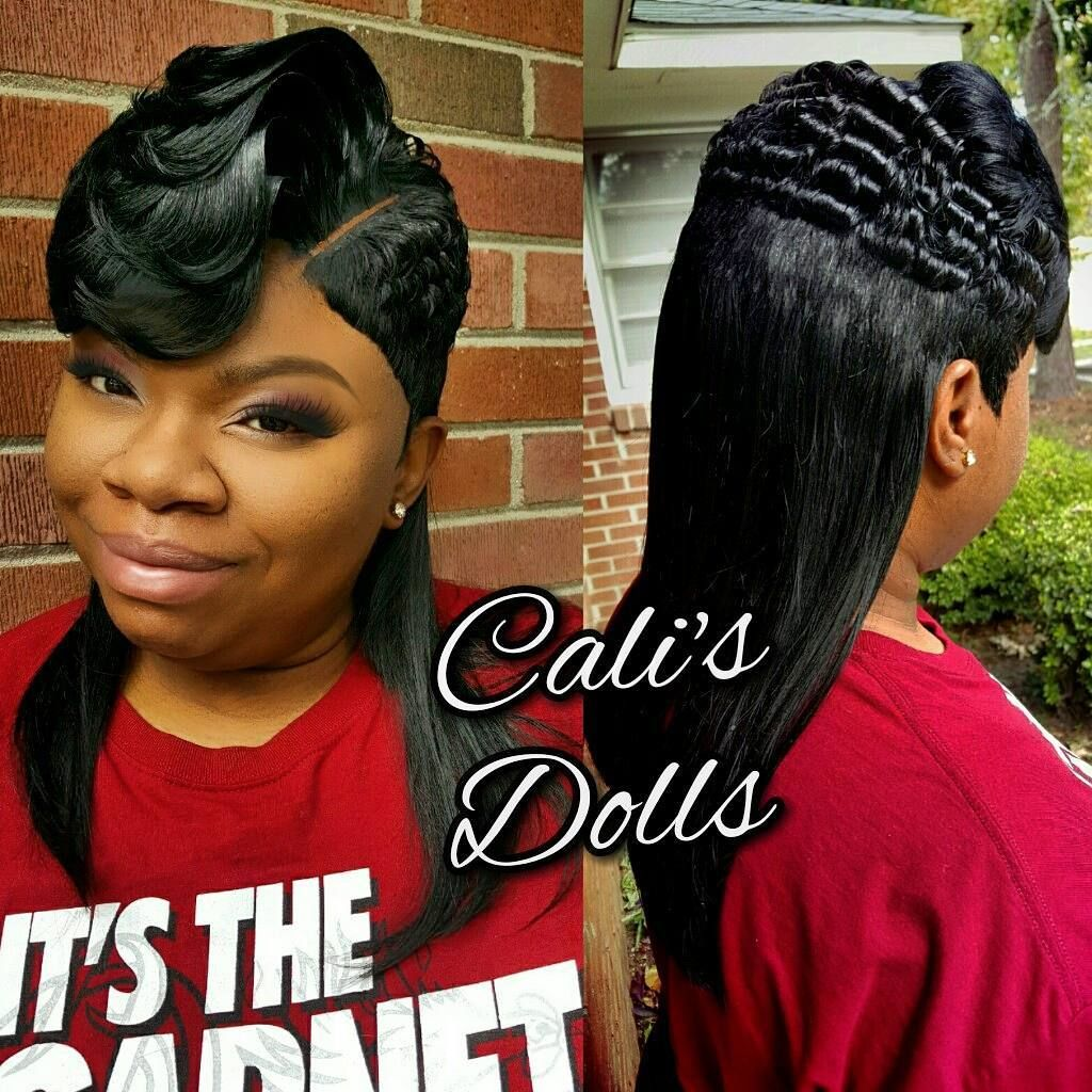 Cali S Dolls Shannon On Instagram Quickweave Scstylist In 2020 Hair Styles Quick Weave Hairstyles Sassy Hair