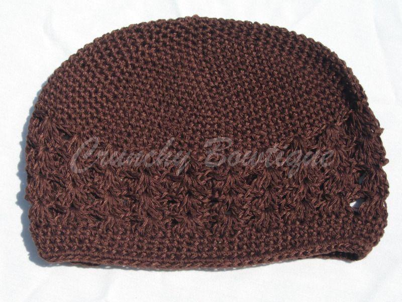 Brown Crochet Kufi Hat Crochet Kufi Hatkufi Hatkufihatcrochet