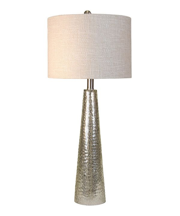 Look at this stylecraft silver pebble table lamp on zulily today look at this stylecraft silver pebble table lamp on zulily today aloadofball Choice Image