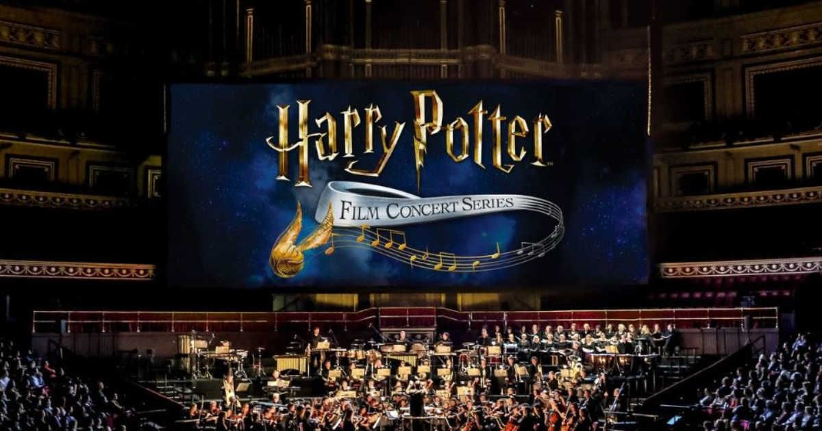 You Can Experience A Harry Potter Theatre Screening Live Concert Next Month Live Concert Harry Potter Theatre Harry Potter