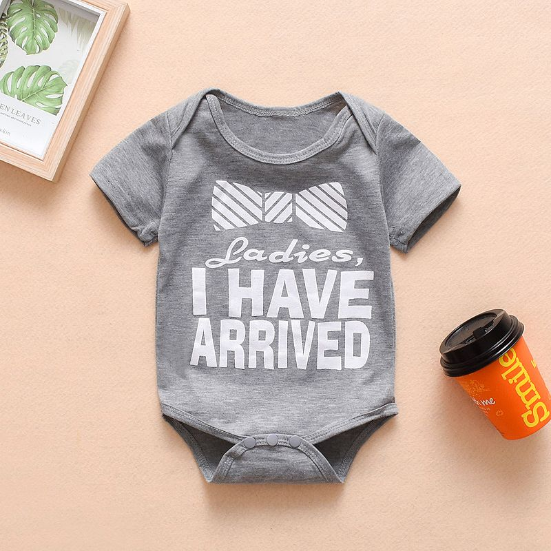 Newborn Kids Baby Girl Boy Matching Cotton Clothes Short Sleeve Romper Outfits