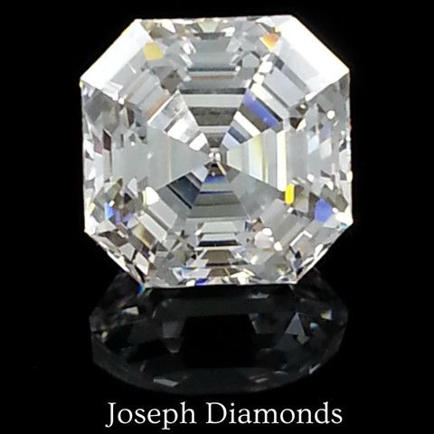 ace authorized en engagement royalasschercut ring asscher diamond order platinum jewelers cut dealers royal